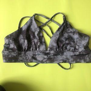 Shadow Dye Strappy Bikini Top